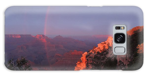 Grand Canyon Rainbow Galaxy Case by Jayne Wilson