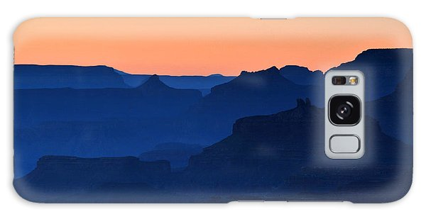 Grand Canyon South Rim Navajo Point Sunset  Galaxy Case