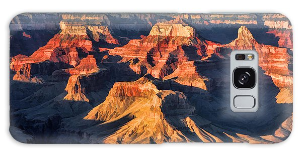 Galaxy Case featuring the painting Grand Canyon Sunset by Christopher Arndt
