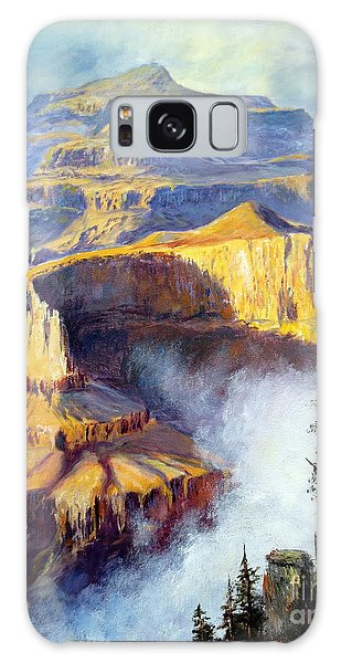 Grand Canyon View Galaxy Case