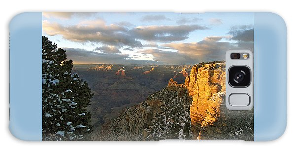 Grand Canyon. Winter Sunset Galaxy Case