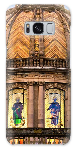 Grand Cathedral Of Guadalajara Galaxy Case by David Perry Lawrence