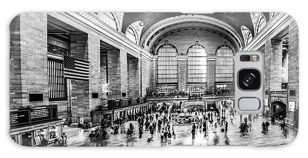 Grand Central Station -pano Bw Galaxy Case