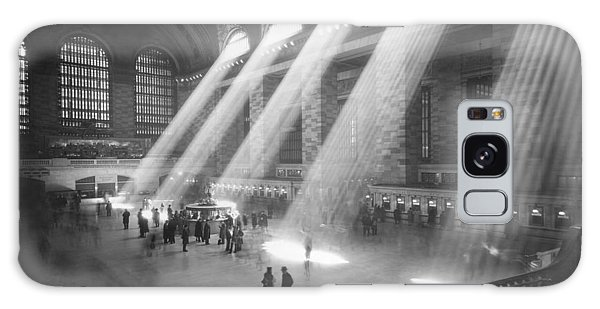 Grand Central Station Sunbeams Galaxy Case