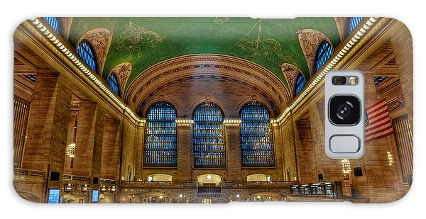 Galaxy Case featuring the photograph Grand Central Station by Susan Candelario