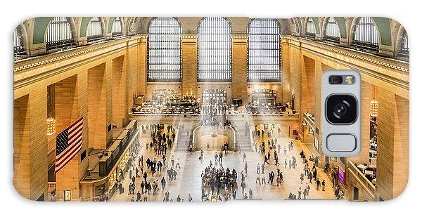 Grand Central Terminal Birds Eye View I Galaxy Case
