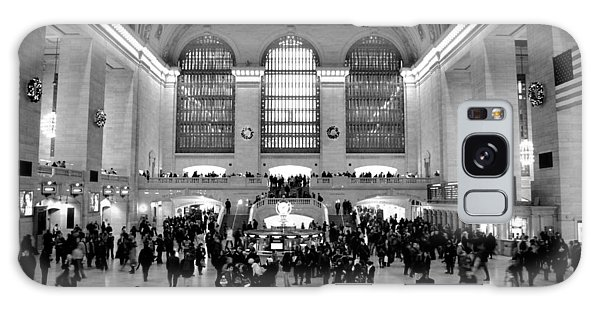 Grand Central Terminal Black And White Galaxy Case by Robert  Moss