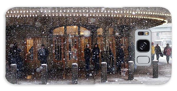 Grand Central Terminal Snow Color Galaxy Case