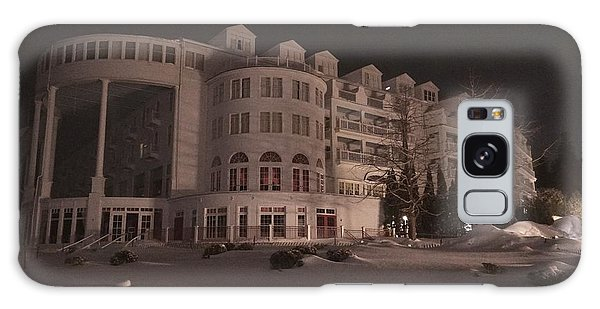 Grand Hotel On A Winter Night Galaxy Case