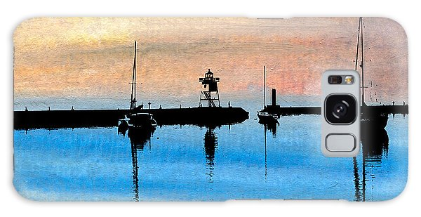 Grand Marais Harbor Galaxy Case
