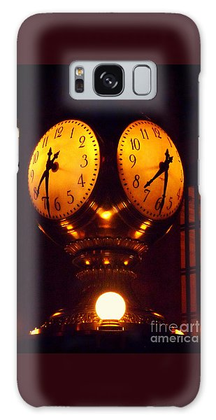 Grand Old Clock - Grand Central Station New York Galaxy Case by Miriam Danar