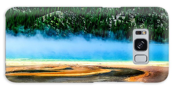 Grand Prismatic Spring  Lan 789 Galaxy Case