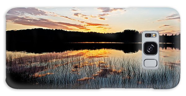 Grand Sable Lake Sunset Galaxy Case
