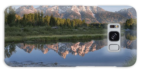 Grand Teton Awakening Galaxy Case by Sandra Bronstein