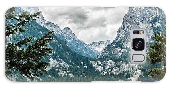 Grand Teton Mt.lake Lan 558 Galaxy Case