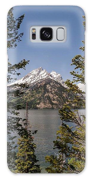 Teton Range Galaxy Case - Grand Teton On Jenny Lake - Grand Teton National Park Wyoming by Brian Harig