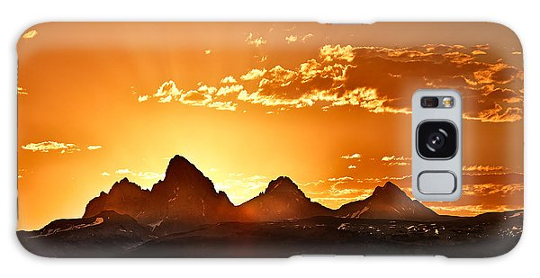 Grand Teton Sunrise Galaxy Case
