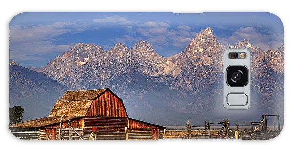 Grand Tetons From Moulton Barn Galaxy Case by Alan Vance Ley