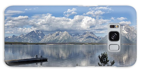 Grand Tetons In The Morning Light Galaxy Case