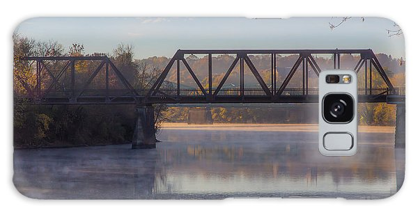 Grand Trunk Railroad Bridge Galaxy Case