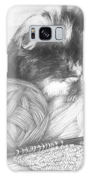 Grandma Paisley Galaxy Case by Meagan  Visser