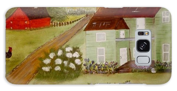 Grandmas Farm Galaxy Case