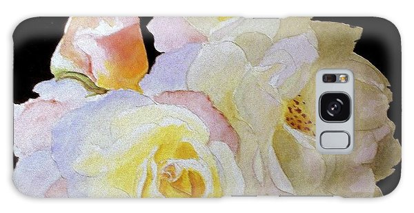 Grandmas Roses Of Color Galaxy Case by Carol Grimes