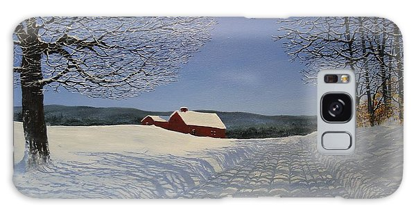 Grandpa's Farm Galaxy Case by Ken Ahlering