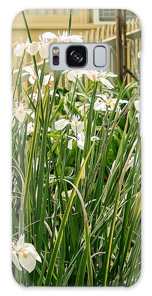 Grandpa's Lilies Galaxy Case