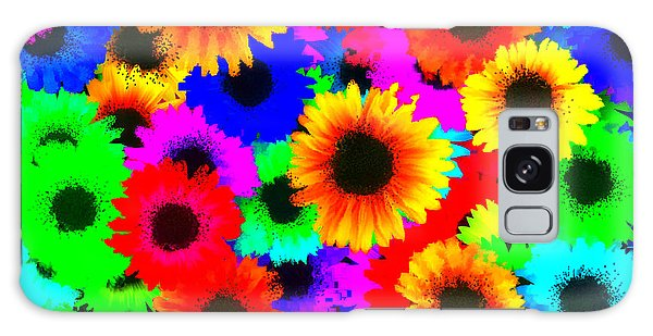 Granny's Garden Colorful Galaxy Case by Holley Jacobs