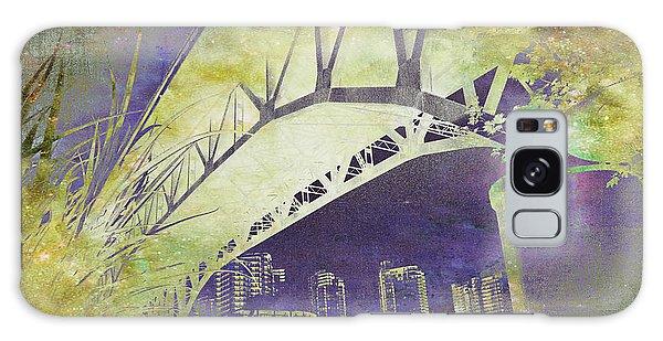 Granville Street Bridge - Inside Out Galaxy Case
