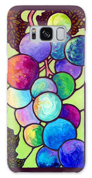 Grape De Chine Galaxy Case