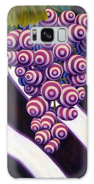Grape De Menthe Galaxy Case by Sandi Whetzel