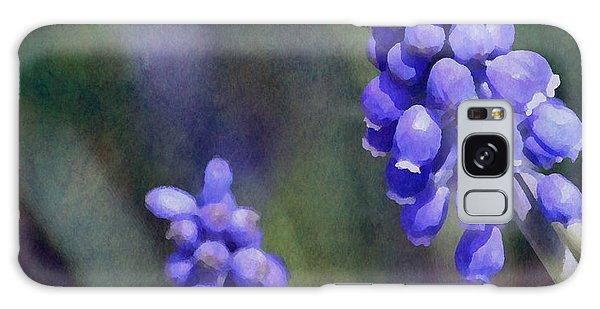Grape Hyacinth  Galaxy Case