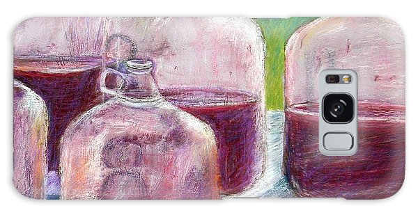 Grape Stomp Residuals Pastel Galaxy Case by Antonia Citrino