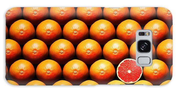 Food Galaxy Case - Grapefruit Slice Between Group by Johan Swanepoel