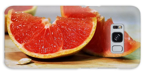 Grapefruit Slices Galaxy Case by Joseph Skompski