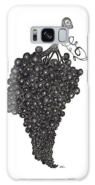 Grapefull Greetings Galaxy Case