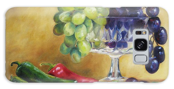 Grapes And Jalapenos Galaxy Case