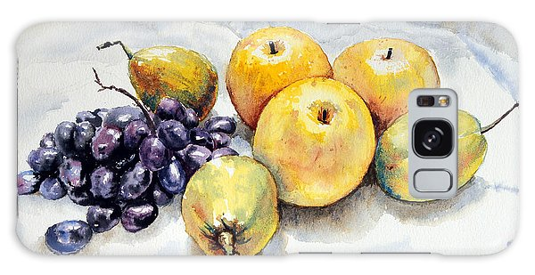 Grapes And Pears Galaxy Case by Joey Agbayani