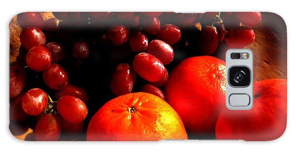 Grapes And Tangerines Galaxy Case by Greg Allore