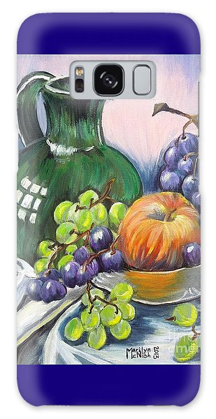 Grapes Galore Galaxy Case by Marilyn  McNish