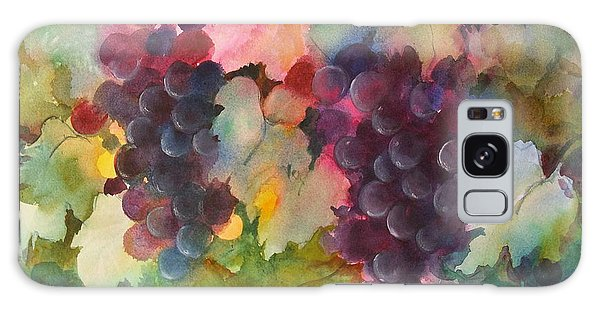 Grapes In Light Galaxy Case