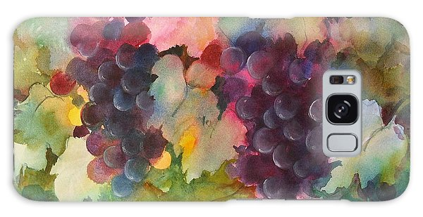 Grapes In Light Galaxy Case by Michelle Abrams