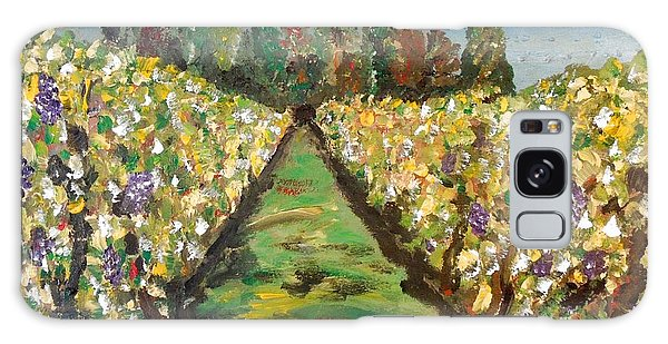 Grapes Of Tuscany Galaxy Case