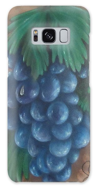 Grapes With Dewdrop Galaxy Case