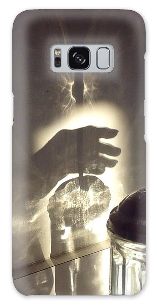 Grasping At Straws Galaxy Case by Lyric Lucas