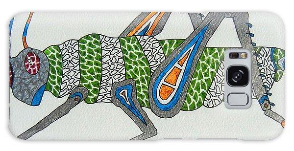 Grass Hopper I Galaxy Case by Kruti Shah