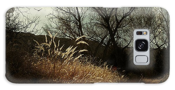 Grasses Of Winter Galaxy Case by Karen Slagle