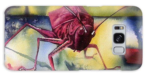 Galaxy Case - Grasshoper by Zuzana Vass